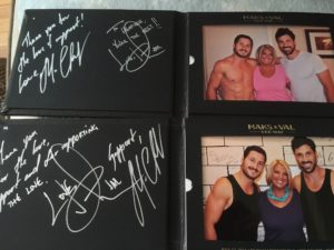 Vip experience blog archives page 2 of 3 lights camera memories custom 57 our way leather picture frame with your printed and signed meet greet photo delivered to your seat m4hsunfo